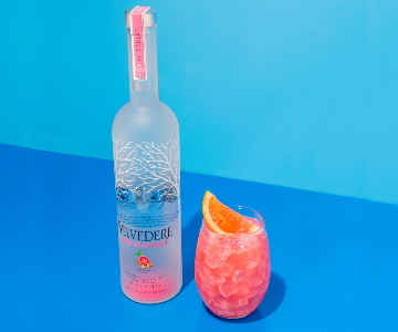 NOVA BELVEDERE PINK GRAPEFRUIT VODKA