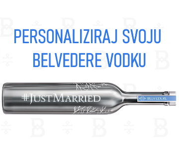 Personalize your BELVEDERE BESPOKE