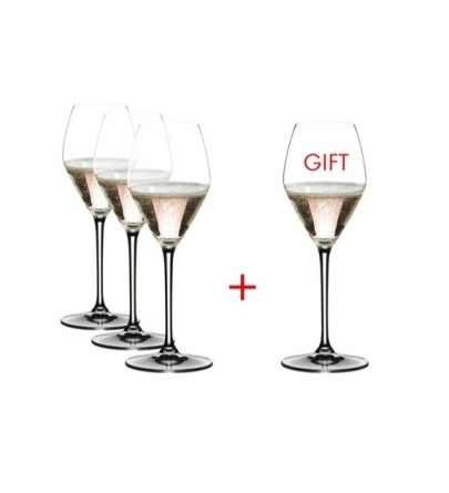 Riedel Extreme Rosé Champagne pay 3 get 4