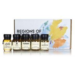 Ableforth's poklon paket - whisky škotskih regija 5 x 0,03l