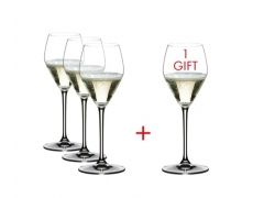 Riedel Heart to Heart Champagne Buy 3 Get 4 Set