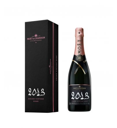 Moët & Chandon Grand Vintage Rosé 2013 Gift Box