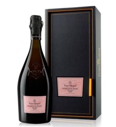 Veuve Clicquot La Grande Dame Rosé 2004 gift box