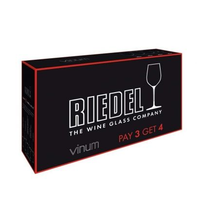 Riedel Vinum Syrah pay 3 get 4 gift pack
