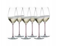 Riedel Fatto a Mano Champagne Pink set 6/1
