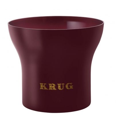 Krug kibla metalna bordo