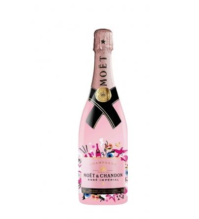 Moët & Chandon Imperial Rose Emoji