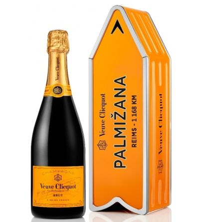 Veuve Clicquot Yellow Label Brut Arrow - PALMIŽANA