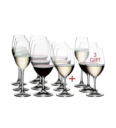 Riedel Ouverture Pay 9 get 12 gift pack