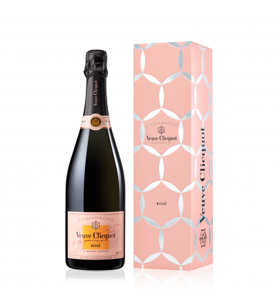 Veuve Clicquot Rose Comet Gift box