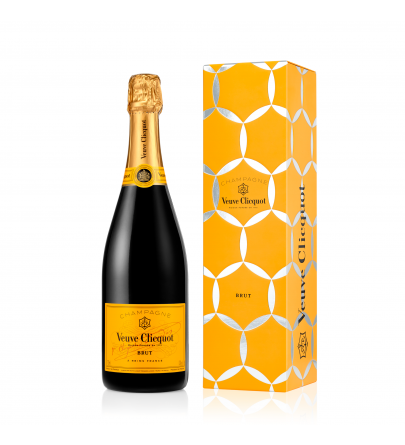 Veuve Clicquot Yellow Label Comet Gift Box