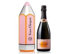 VEUVE CLICQUOT ROSE PENCIL GIFT BOX