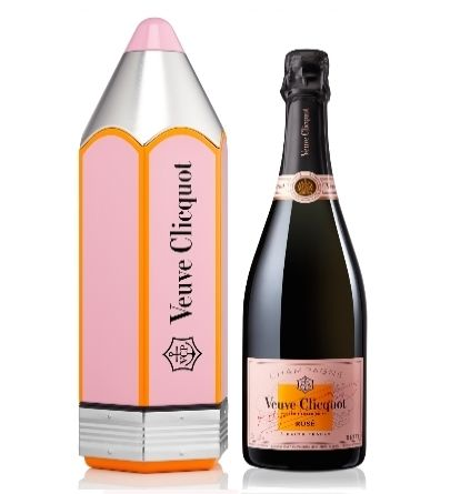 Veuve Clicquot Rosé Pencil Gift Box