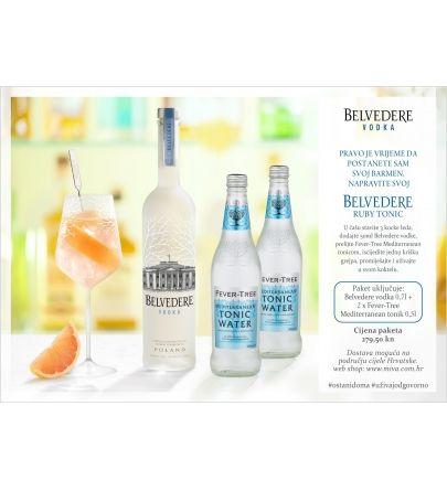 Belvedere Ruby tonic paket
