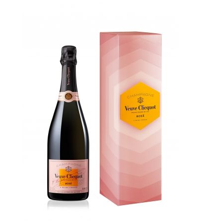 Veuve Clicquot Rosé Radiating Gift Box
