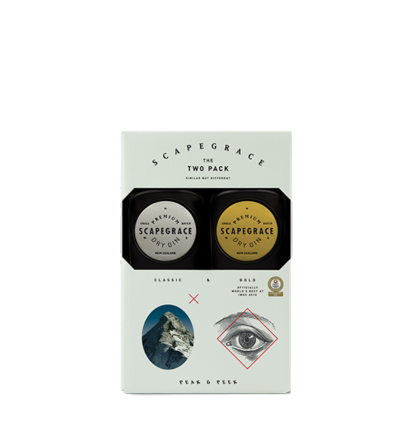 Scapegrace gin Twin pack