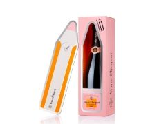 Veuve Clicquot rose magnet message