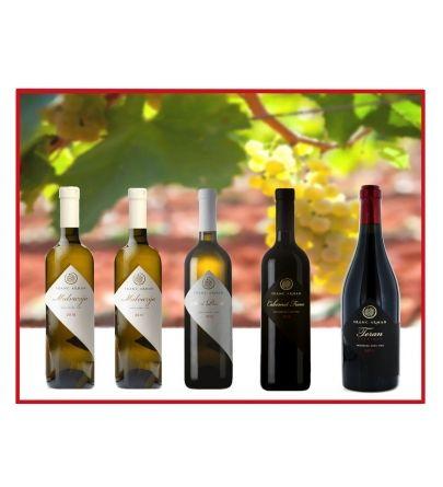 Miva online vinska radionica paket vina vol.5